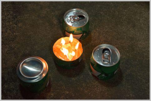 キャンプのコンロを空き缶で代用する方法とは