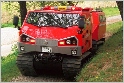 緊急消防援助隊のレッドサラマンダーがスゴイ