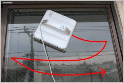 窓拭きロボットの自動クリーニングを検証する