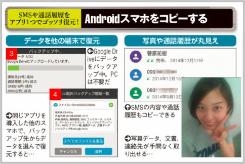 Androidをバックアップアプリでコピーする方法