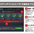 無料ウイルス対策ソフト「AVG」で感染ブロック