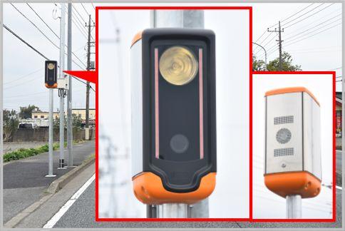 移動式オービスiMはレーダーで車速を計測する