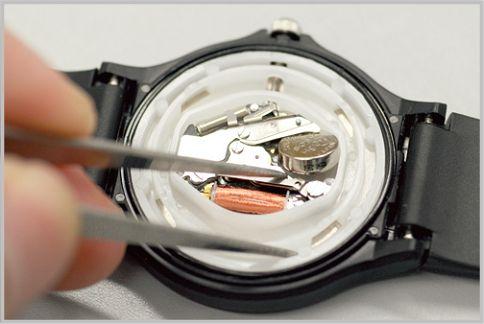 チプカシ人気モデル「MQ-24」電池交換する方法