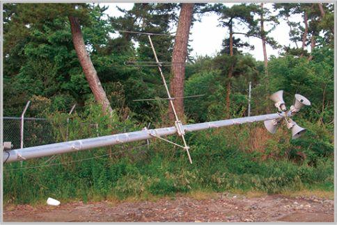 防災無線は市町村の同報系を受信して情報を入手