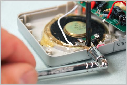 ポケットラジオのロッドアンテナを大型化する
