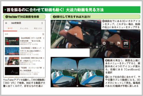 在智能手机上欣赏VR视频的方式非常简单