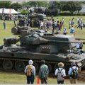 陸上自衛隊の専門職の装備品が見られる駐屯地祭