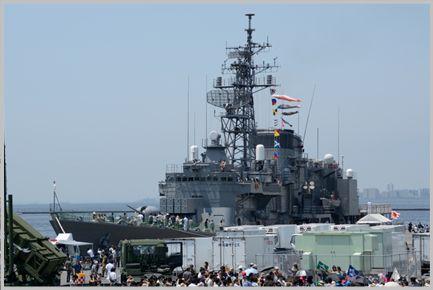 海上自衛隊の艦艇は各地で一般公開されている