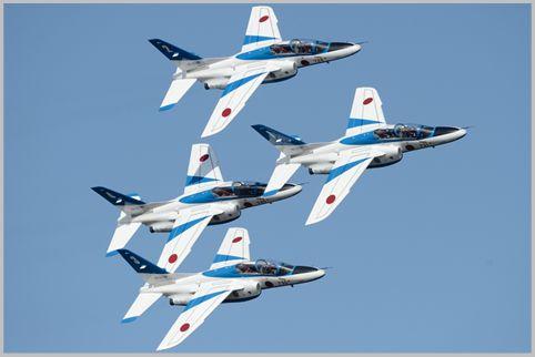 百里基地航空祭はブルーインパルスも飛行予定