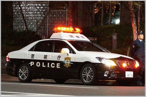 パトカーの危険度は赤色灯の形状で見分けられる