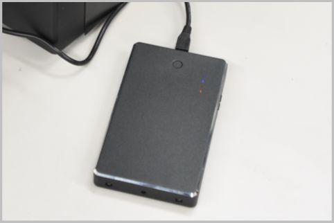 モバイル充電器型ビデオカメラ