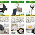 LEDセンサーライトは電源タイプでセレクトする