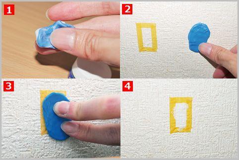 壁紙補修はキズの大きさで便利グッズを使い分け