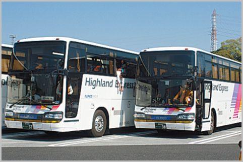 観光地の交通情報は観光バス専用波の無線を聞く
