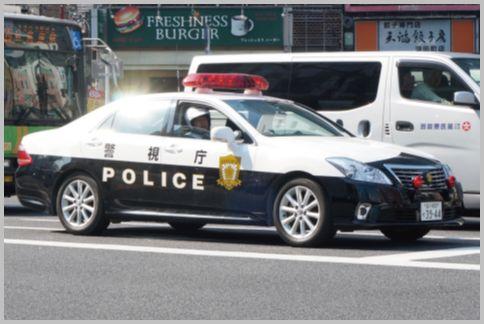 パトカーの交通取り締まり危険度を判別する方法