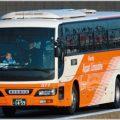 リムジンバスの無線で高速の渋滞情報が聞こえる