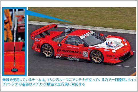 レーシングカー無線はチームの一員になった感覚