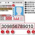 運転免許証番号を見れば再発行した回数がわかる