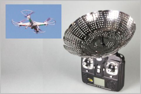 格安ドローンの飛距離アップには蒸し器が効果的