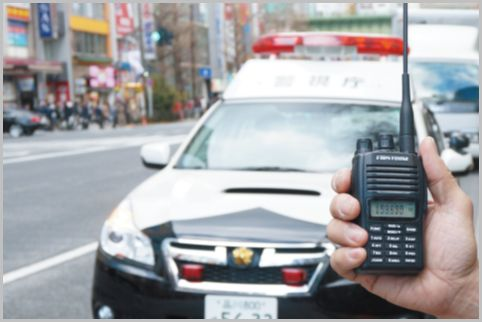 パトカーや白バイの追尾を知らせるお手軽受信機