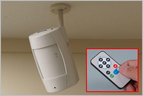 防犯カメラは乾電池型なら配線不要で設置が簡単