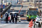 交通違反取り締まりはアンダーパスと陸橋に注意