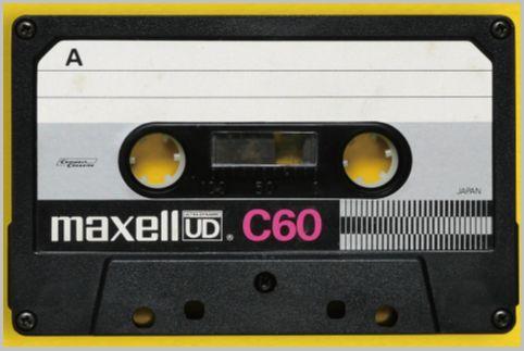 日立マクセルの音楽用カセットの代名詞が「UD」