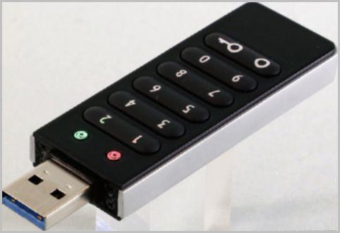 USBメモリはパスワード入力タイプで完璧ガード