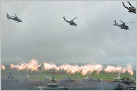 富士総合火力演習のチケットは予行演習が狙い目