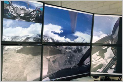 VRゴーグルなしで360度の仮想空間を堪能する
