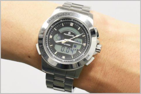 周囲の放射線量を毎日装着する腕時計で測定する