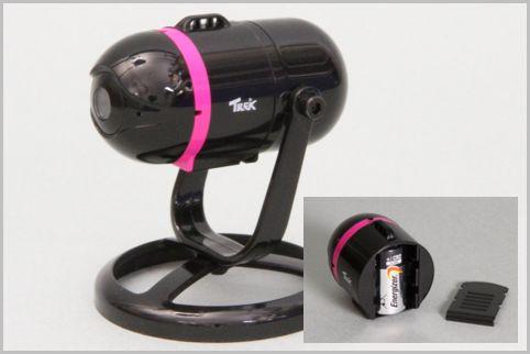 スマホで映像を確認できる監視カメラが8千円