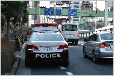 交通違反に引っかかりやすい重点取締場所はココ