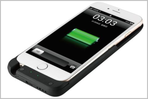 iPhoneケースに偽装したバッテリー内蔵カメラ
