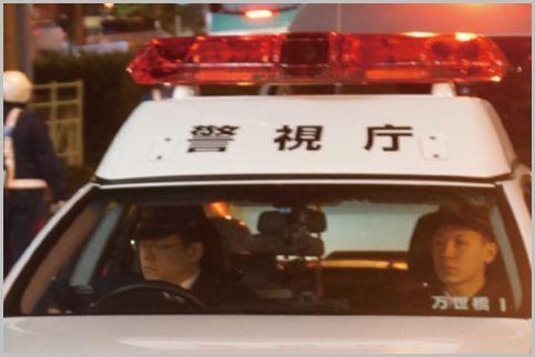 同じ白黒パトカーで車内が攻撃的な自動車警ら隊