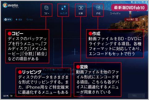 定番リッピングツール「DVDFab10」が進化した