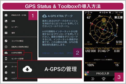 格安SIMで遅延しがちなGPSをすぐ捕捉する方法