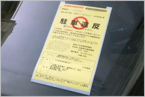 駐禁チケットが貼られて取り消された3つのケース