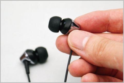 セブンイレブンのイヤホンがよく耳にフィット
