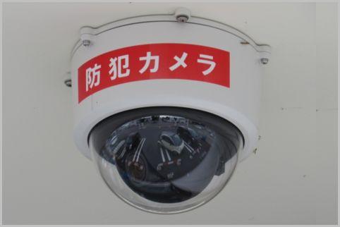 警察は防犯カメラの不鮮明なナンバーも判読可能