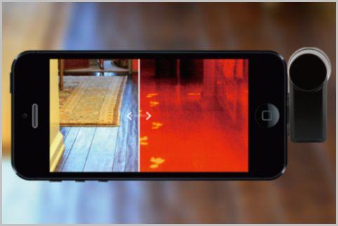 差し込むだけでスマホが暗視カメラ化するツール