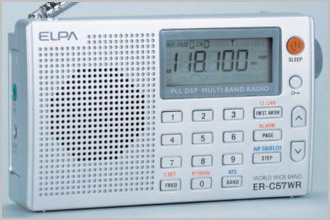 エアーバンドが聞ける5千円BCLラジオの操作性