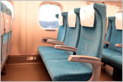 新幹線の自由席に座るなら偶数号車のB席を狙う