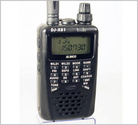 盗聴発見モードを装備した受信機DJ-X81の魅力