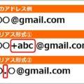 Gmailアドレスが無限増殖するエイリアスとは?