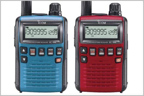盗聴器も受信できる「IC-R6」カラバリの意味