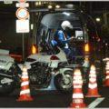 アンダーパスではスピード取締り以外にも要注意