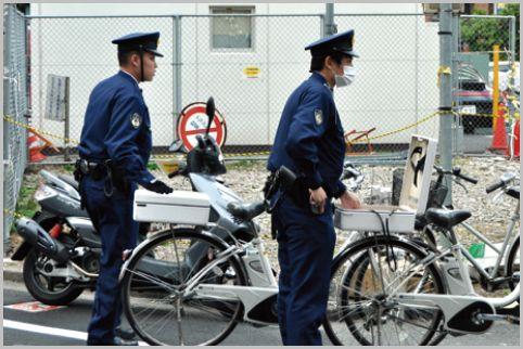 交番の警察官は職務質問や現行犯のノルマがある