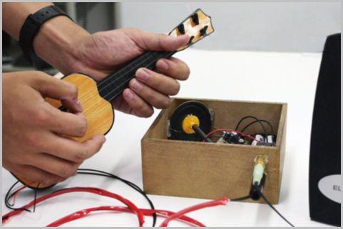 ダイソー「おもちゃギター」をエレキ仕様に改造