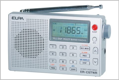 5千円以下で買える小型ラジオで航空無線を受信